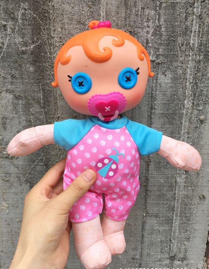 Милые оригинальные кнопки для маленьких девочек, куклы материал игрушки Для детей подарок на день рождения