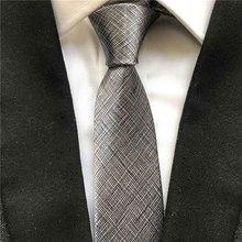 5 см галстук Повседневный узкий галстук твердые серые галстуки полиэстер Gravata