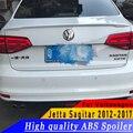 ABS высокое качество Спойлер праймер или DIY Цвет заднего крыла Спойлер для фары для Volkswagen Jetta Sagitar 2012-2017 год