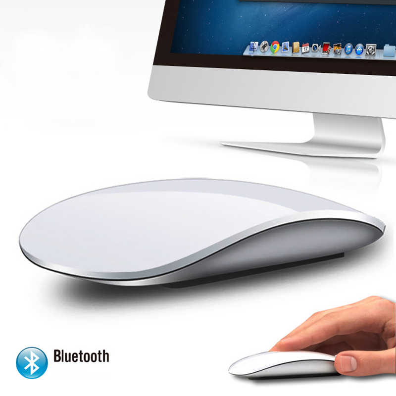 85b9b7f10d5 Magic Mouse 2 Bluetooth Wireless game Mouse Touch Wheel PC Ultra Slim  fashion for Apple style