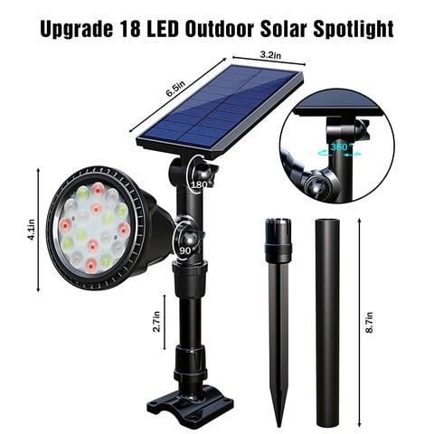 dbf movido a energia solar 18 led
