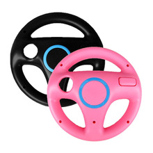 Black/ pink Kart Racing Game Steering Wheel Controller For Nintendo Wii For Wii Remote Controller Console