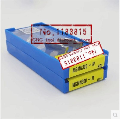 New product KORLOY carbide blade 10 PCS MGMN300 special aluminum copper products processing CNC Cutting Turning