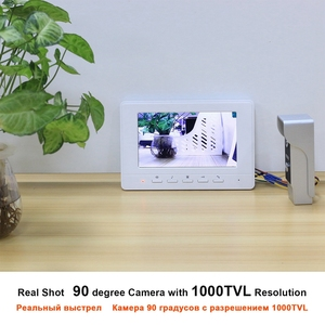 Image 3 - Homefong Video Intercom 7inch Wired Video Door Phone 1000TVL IR Doorbell Camera With Electric Lock for Home Door Intercom System