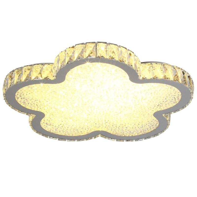1 tête/3 tête moderne led ronde plafonnier chaud chambre chandelier en cristal enfants de chambre lampe porche lumières d'allée ZP4151630