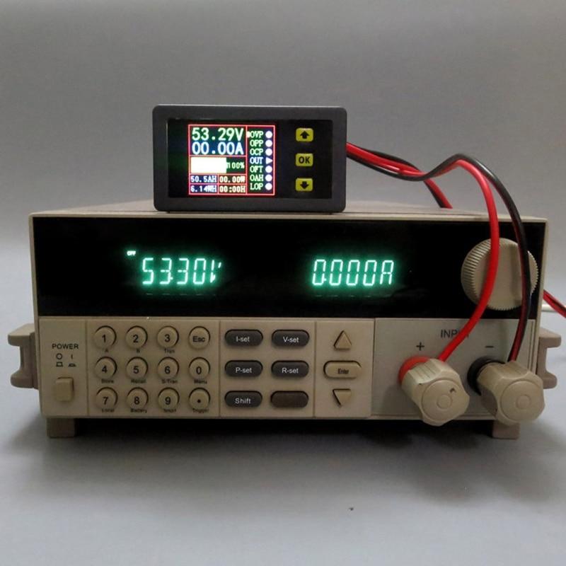 Image 4 - Digital Multimeter Charge Discharge Battery Tester DC 0 90V 0 20A Volt Amp Meter #Aug.26Battery Testers   -