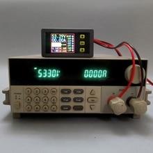 Medidor do ampère do volt da c.c. 0 90 v 0 20a do verificador da bateria da carga descarga do multímetro digital # aug.26