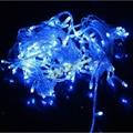 50 stks hot koop 300 led 30 m string licht kerst//party decoratie verlichting verlichting ac 110 v 220 v, Waterdicht, 9 kleuren