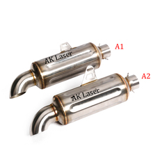 38~51mm Motorcycle Exhaust Muffler Stainless Steel For Exhaust Escape Moto Tail Muffler Tip Pipe motorcycle muffler stainless steel exhaust motorcycle muffler exhaust pipe for suzuki hayabusa gsxr1300 gsx650f gsf650 bandit