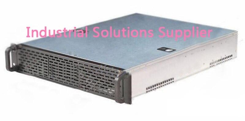 все цены на  NEW DP215 2U server computer case 2u industrial computer case plate nas special computer case  онлайн