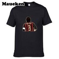 2017 Hommes Fond Légende #3 Paolo Maldini de T-shirt T-shirts À Manches Courtes T SHIRT Hommes Italie AC Milan Capitaine exploits W1108015