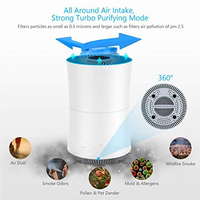 Air Purifier sterilizer In addition to Formaldehyde Purifiers air cleaning Intelligent Household Air Ionizer Negative ion