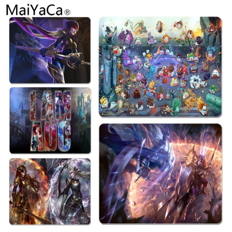 MaiYaCa LOL Large Lockedge Mouse pad PC Computer mat Size for 25x29x0.2cm Gaming Mousepads