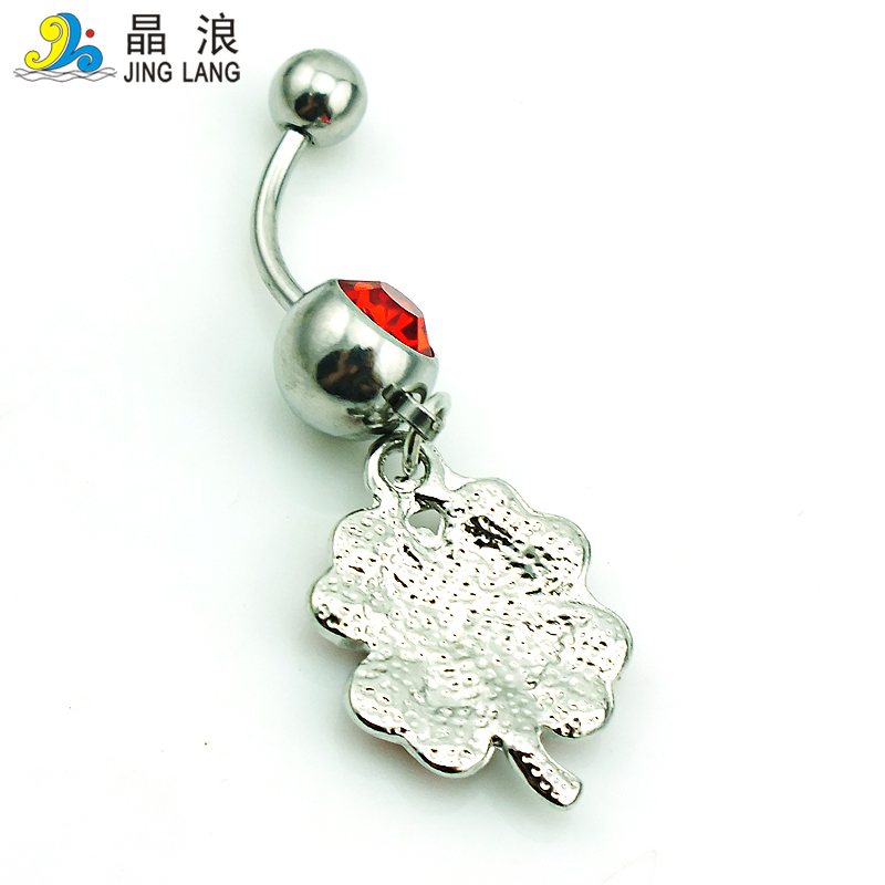 b173118e4 1 Pcs Retails Fashion Belly Button Rings 316L Stainless Steel Dangle  Rhinestone Clover Navel Rings Jewelry on Aliexpress.com | Alibaba Group
