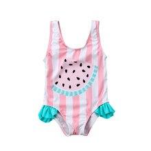 df04a851ba5a7 Toddler Newborn Baby Girls Watermelon Swimsuit Summer Baby Girl Beachwear  Swimwear Bathing Suit