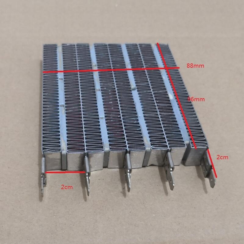 Electric Heater Parts Heat Pad PTC Ceramic Heating 96X87X15mm