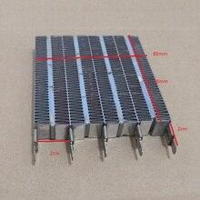 Piezas de calentador eléctrico almohadilla de calor PTC Calefacción de cerámica 96X87X15mm