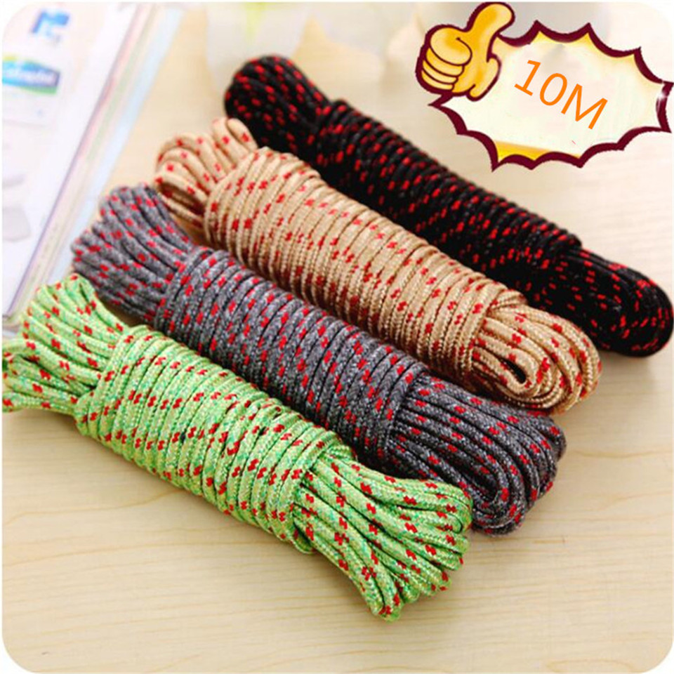 15m x 7mm OLIVE UTILITY ROPE is strong cord 50ft