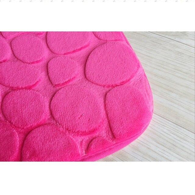 5 Colori solidi Bagno Zerbino s 2 pz/set Tavolette copriwater Zerbino Qualità Tappeti Da Bagno Antiscivolo Tappeti Igienici Morbido di Flanella wc bagno Zerbino