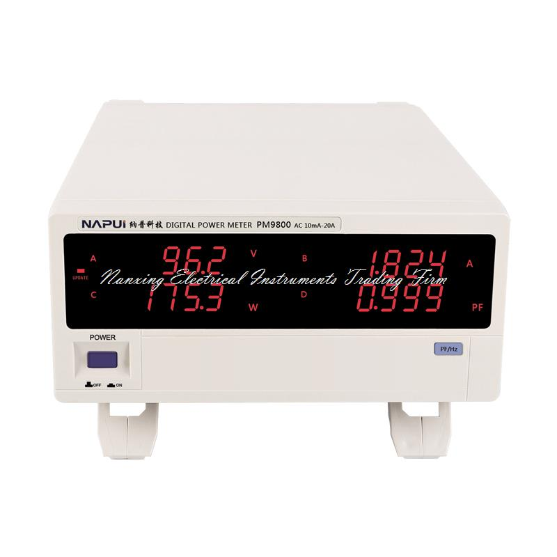 Fast arrival PM9800 NEW BRAND ACVoltage Current Power Factor & Power Meter Tester Perfect replacement PF9800,600V,20A fast arrival pm9800 new brand acvoltage current power factor