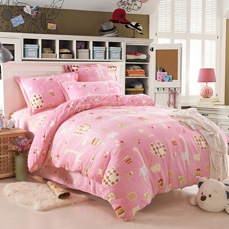 pink bedspread girls and kids bedding set designer comforters and quilts animals bed sheets anime bed