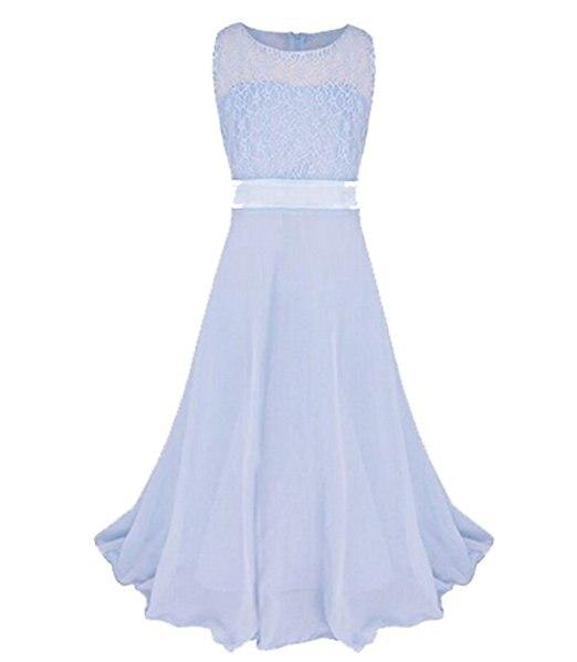 Girl sleeveless lace dress Party Dress