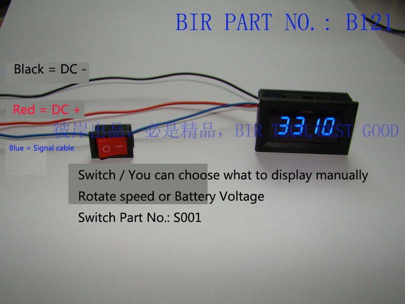 Blue LED Car Motorcycle Digital Tachometer Tacho Gauge RPM meter Battery under Over voltage alarm 2 diagrams 537288 rpm meter wiring diagram a defi rpm meter tachometer wiring diagram for motorcycle at soozxer.org