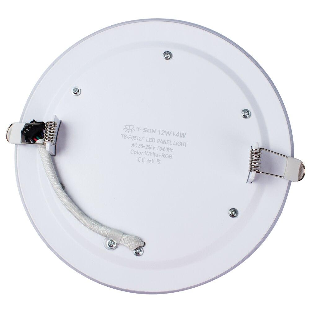 Luzes do Painel de Led de luz ac85-265v 12w/lm : 1000lm