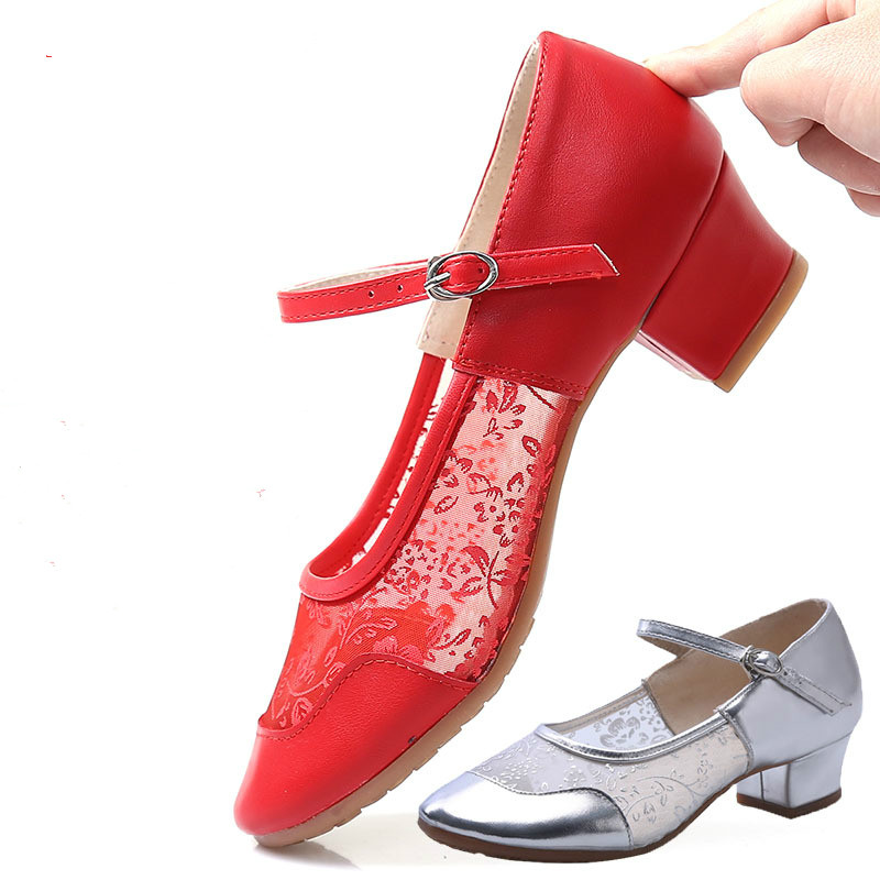 Zuoxiangru High Quality New Arrival Wholesale Woman Ballroom Tango Salsa Latin Dance Shoes Low Heel Shoes Ballroom Dancing in Dance shoes from Sports Entertainment
