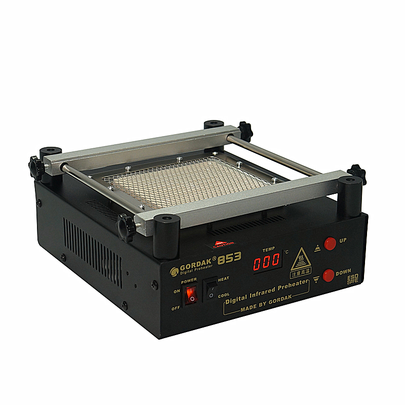 Tools : 110V 220V BGA IR Preheater Station Gordak 853 Lead Free Infrared Preheating Station