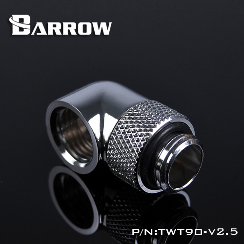 Barrow TWT90-v2.5, G1 / 4 '' Thread 90 Degree Rotary Fittings, - Computer componenten - Foto 3
