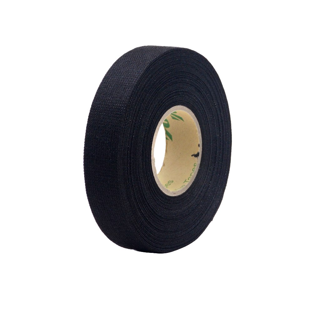 wiring harness glue big offer 6a8xo 1pcs 19mmx15m fabric cloth tape automotive  1pcs 19mmx15m fabric cloth tape
