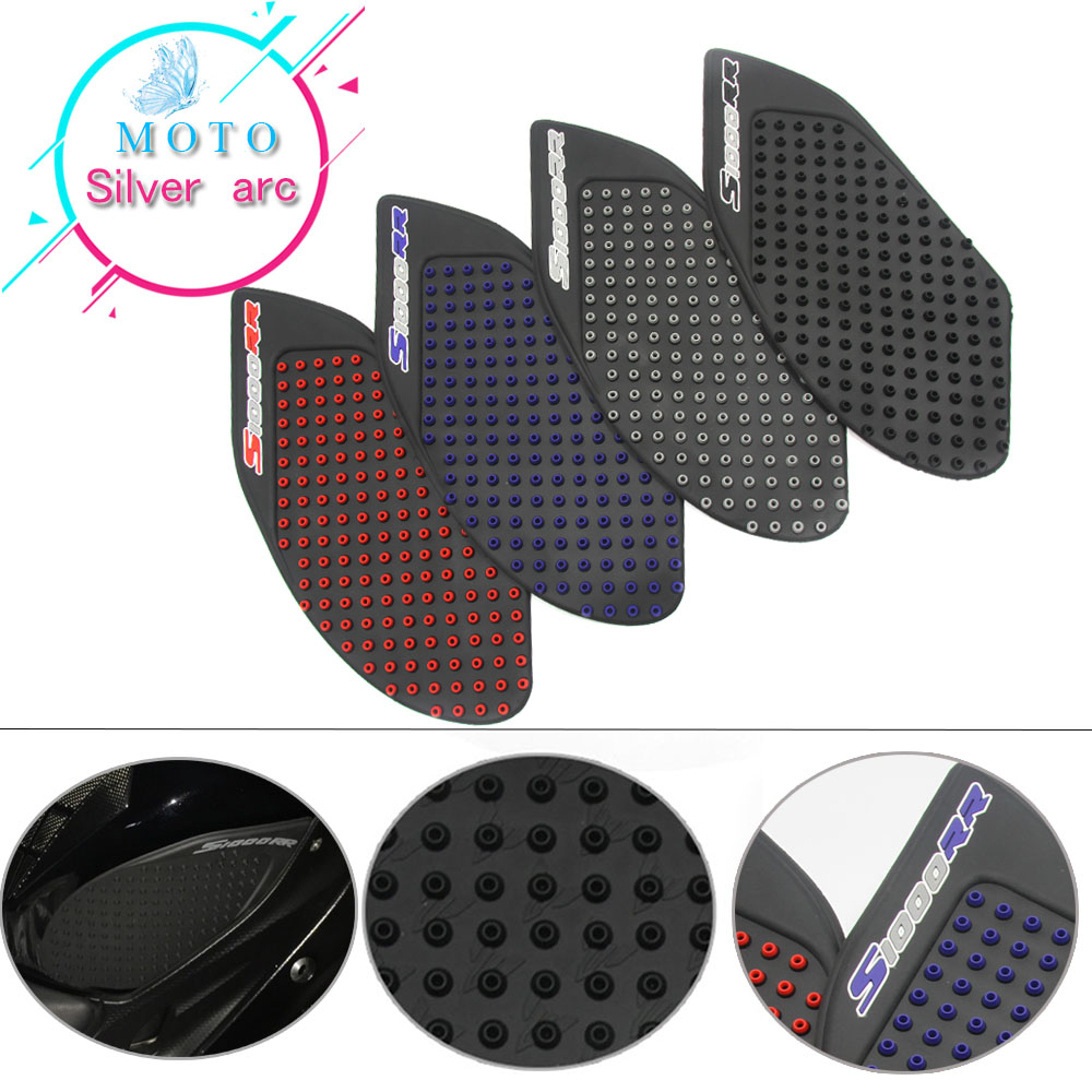 Motorcycle Tank Traction Pad Side Gas Knee Grip Protector Anti slip sticker for BMW S1000RR 2009 2010 2011 2012 2013 2014 2015