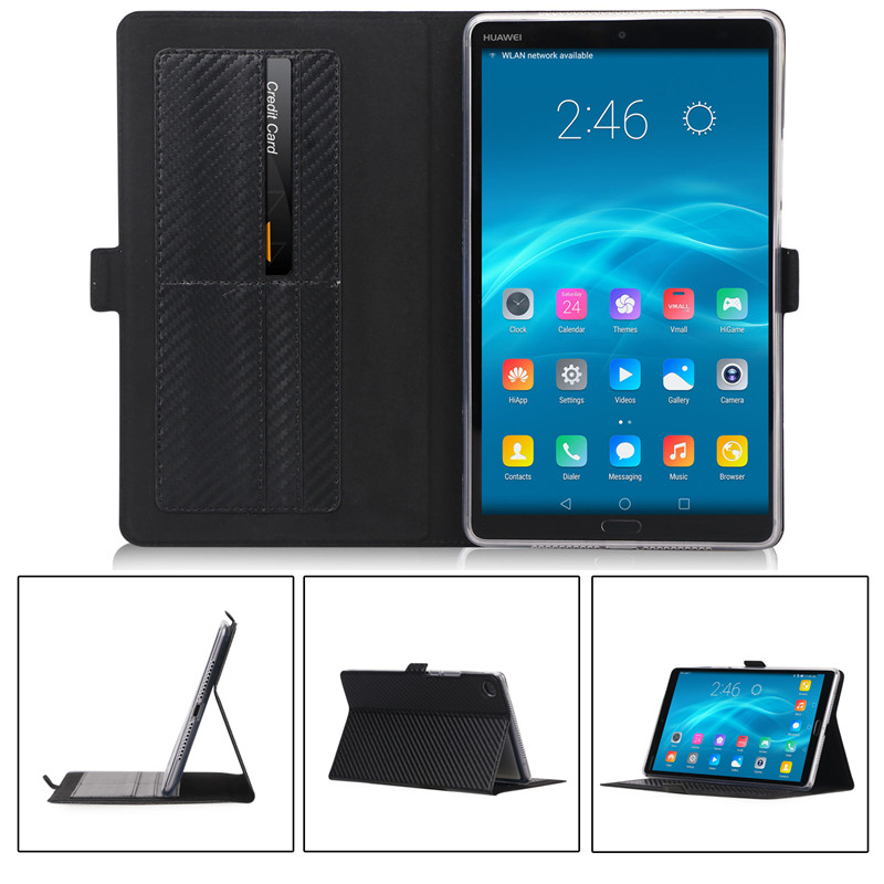 купить DULCII for Huawei MediaPad M5 Flip Case Leather Stand Magnetic Case for Huawei MediaPad M5 8.4 inch Cases Protective Cover по цене 986.45 рублей