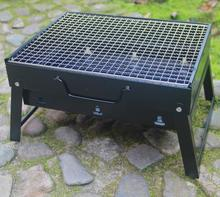 Portable folding outdoor barbecue charcoal stove BBQ