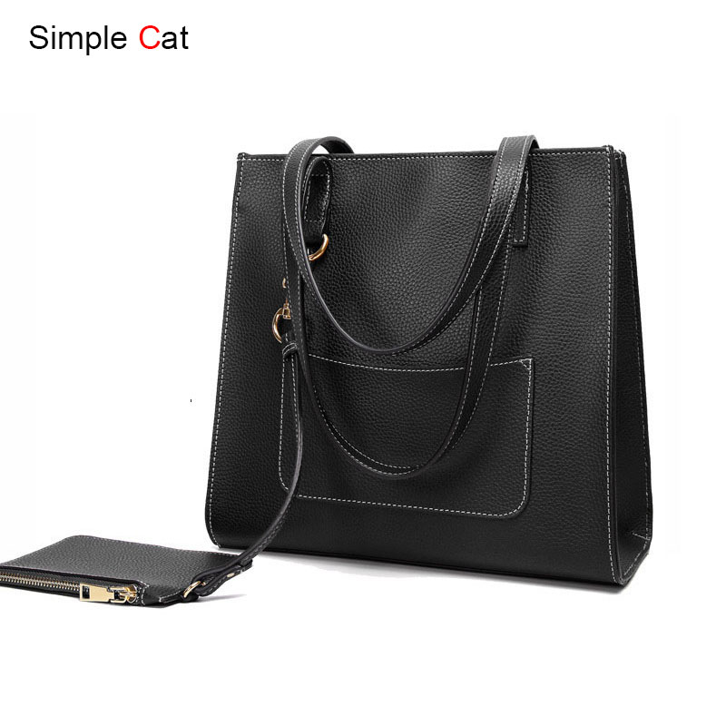 2018 Women Bag Casual Tote Fashion Handbag Shopper Shopping Purse Shoulder Daily Casual Designer Lady Top-Handle Bags