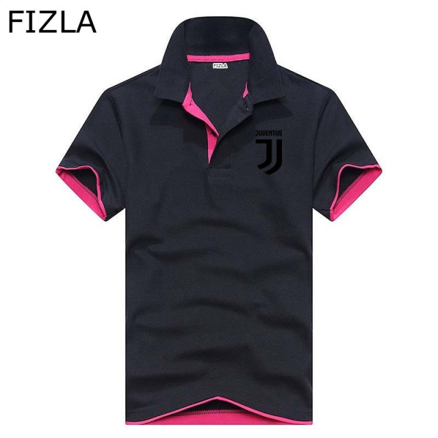 Summer New polo men's shirt high quality Juventus cotton short sleeve shirt breathable solid male polo shirt Men and women tops