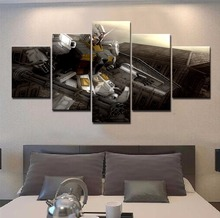 Frame 5 Piece Canvas Art Gundam Painting For Home Decor Paintings on Wall for Decorations Artwork