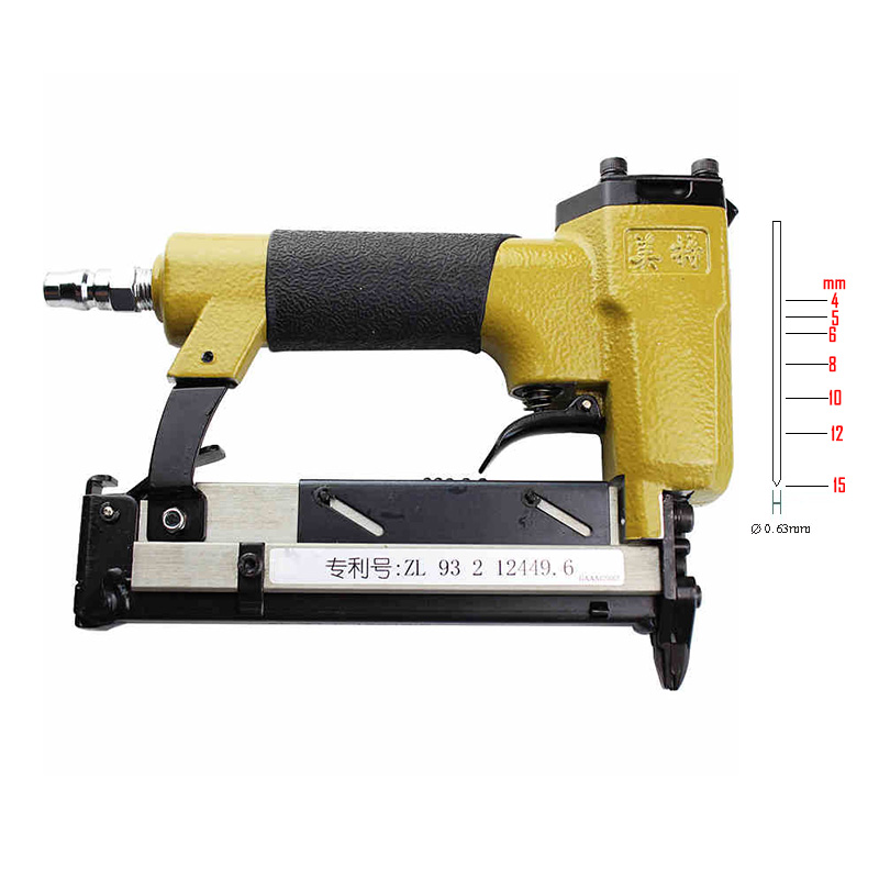 Quality meite P616 Pneumatic Nailing Gun Air Stapler Gun Nailer Tools 4-15MM high quality h625x high quality pneumatic nail gun kit pneumatic pinner nailer kit nailing gun air nailer stapler