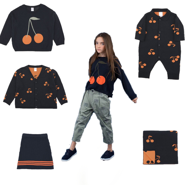 5f3beeced Kids Sweaters Tiny Cottons 2018 Autumn Winter Boys Girls Long Sleeve ...