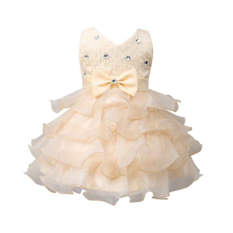 a48dbd41b 2018 Baby Girls Dress For Party Princess Dresses Infant Christening ...