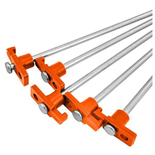 Hot 50 Heavy Duty Metal <font><b>Tent</b></font> Pegs/Stakes Aluminium Hard Ground Pegs Lightweight Rock/Camping Pegs Alloy <font><b>Tent</b></font> Accessories