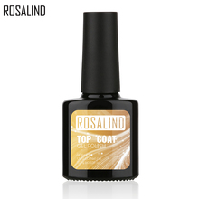 ROSALIND 10 мл долгое время Сияющий замачивающийся Гель-лак для ногтей не протирает верхнее покрытие Большой максимальный диапазон не липкий слой не очищающий верхнее покрытие
