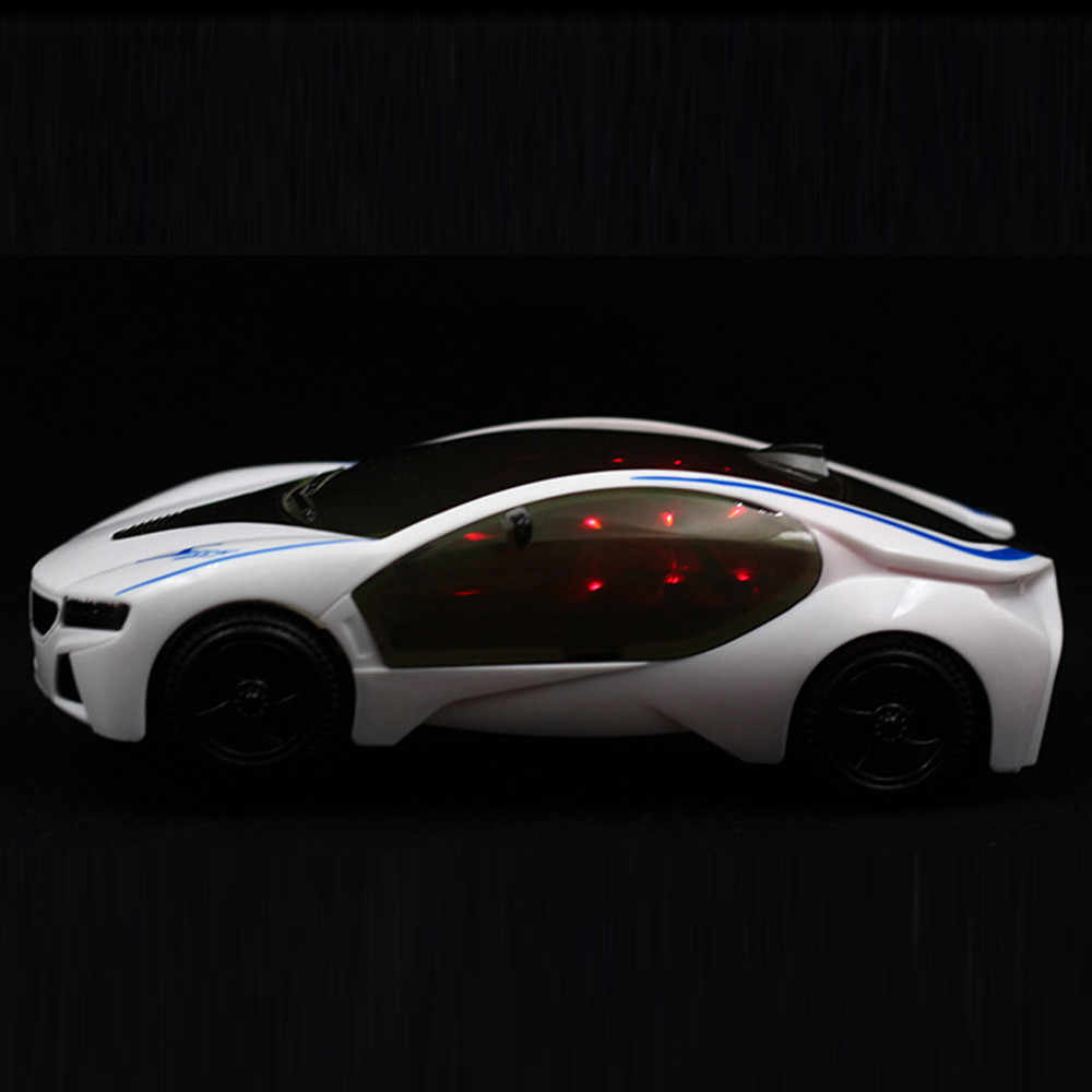 3D Supercar Style Electric Toy With Wheel Lights Music Singing Kids Boys Girls Gift Electric Universal Drop Shipping ye11.20