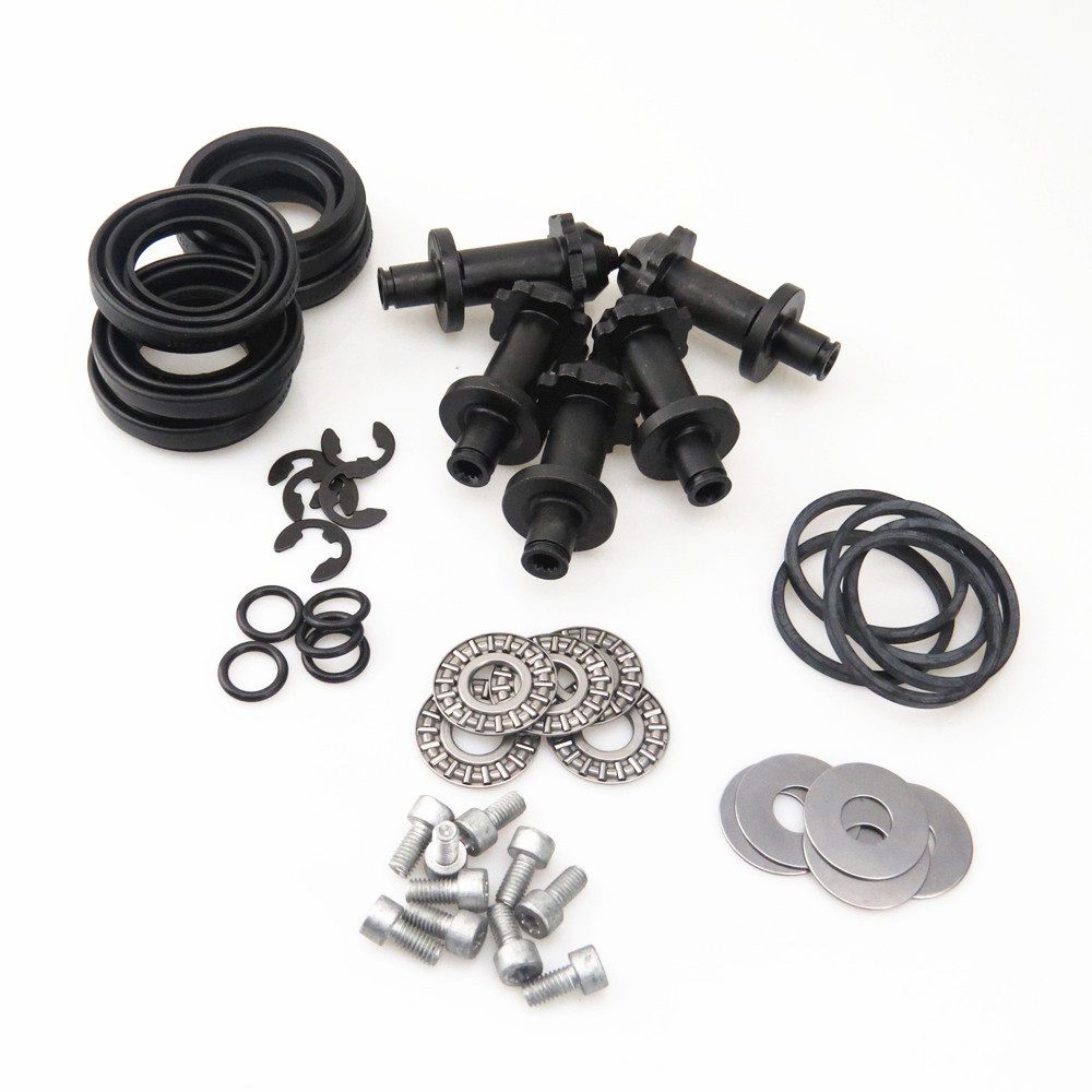 TUKE 5 Set 12 Torx Rear Hand Brake Servo Caliper Motor Screw Kit For 32332267 VW Passat B6 B7 Sharan Seat Alhambra A6 32326315