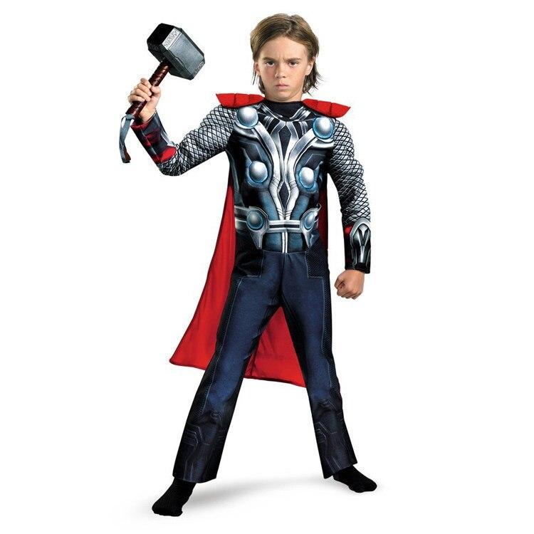 Online Shop Klassische Jungen Mädchen Thor The Avengers Muscle