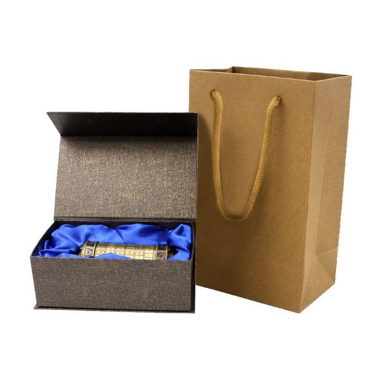 Leonardo Davinci Code jouets métal Cryptex verrouille saint valentin cadeau lettre mot de passe évasion chambre accessoires - 2