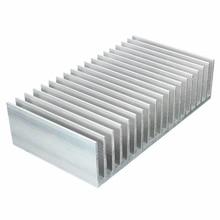 182x100x45mm Aluminio Del Disipador de Calor Del Radiador Del Disipador de calor Para IC Electrónico Chipset de Disipación de Calor de Alta Potencia LED amplificador de Transistor