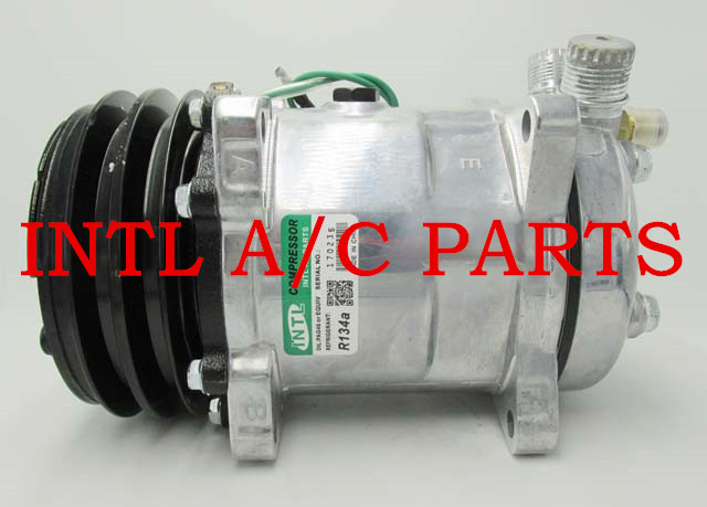 US $56 0 |for Sanden 5H14 508 8390 SD5H14 SD508 Universal auto car a/c ac  compressor with 2pk pulley 12V/24V-in Air-conditioning Installation from