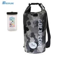 Goexplore Dry Bag 20L Waterproof Rafting Diving Folding River Trekking Outdoor gym Swimming Backpack 2019 Lightweight Portable